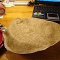 全麥餅皮,用來包香菇青椒牛肉