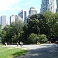 終於來到中央公園