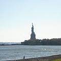 要跟自由女神及Ellis Island說掰掰了