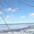 湖水怎麼結冰了呢?