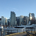 Downtown Vancouver beside the harbour