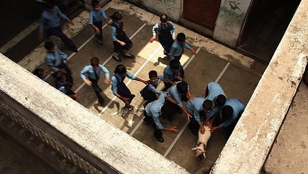 gattu's goat kid in school. gattua cfsi film directed by rajan khosa