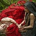Dora (Hayley Carmichael), Witch (Kathryn Hunter).jpg