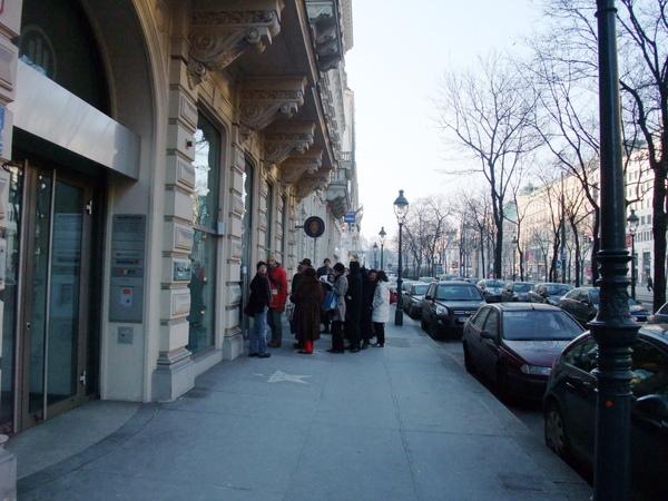 維也納愛樂-排隊人潮
