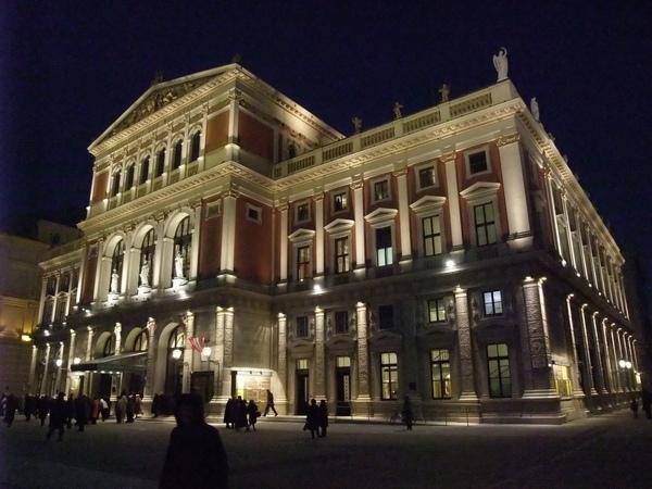 維也納愛樂協會-夜晚