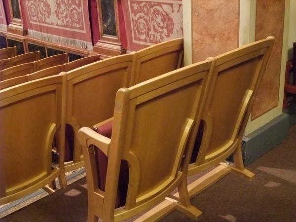 維也納愛樂協會-椅子