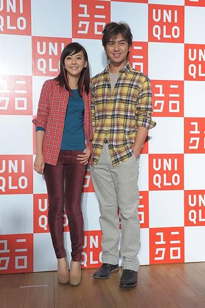 UNIQLO代言人 陳柏霖與陳意涵 出席U Style Party-1