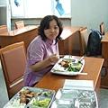 豐盛的學員餐.JPG