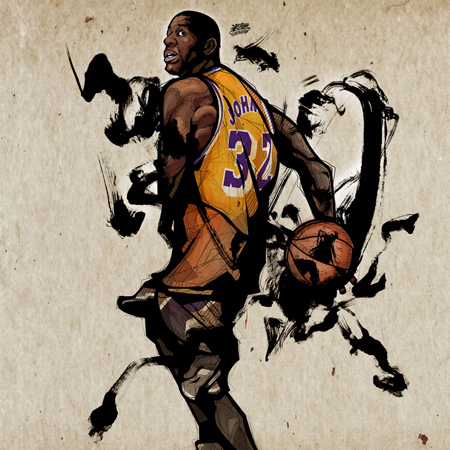 Magic_Johnson_by_kwangki.jpg