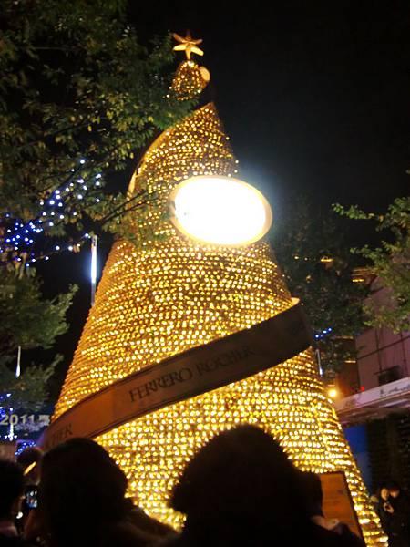 金莎聖誕樹