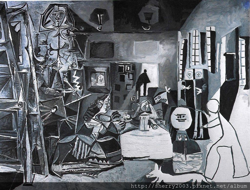 仕女(Las Meninas)(1957).jpg