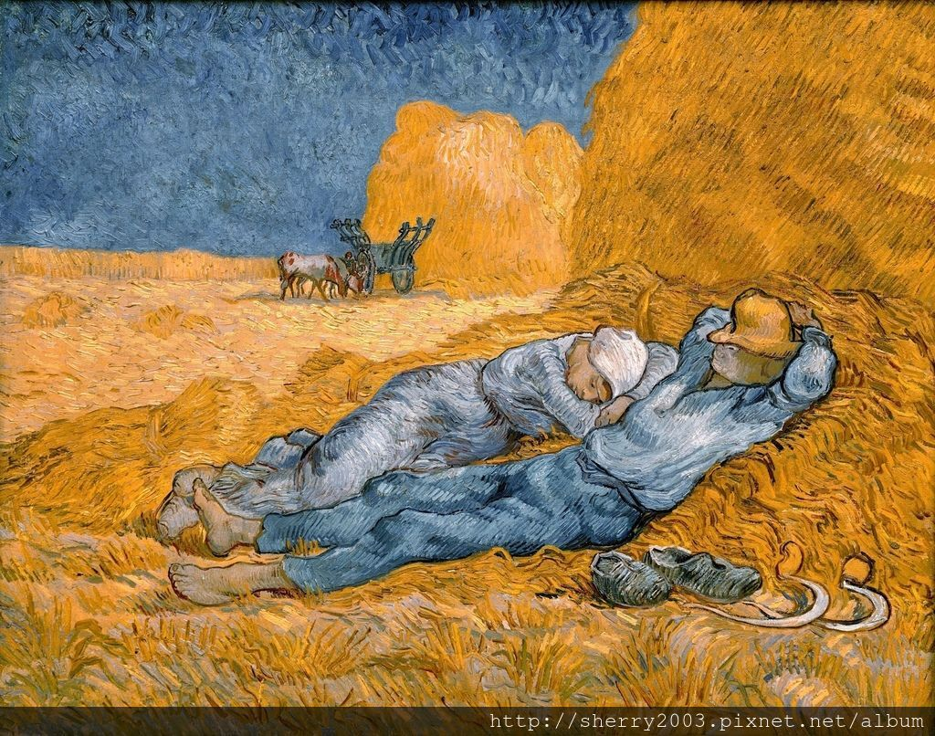 (Van Gogh)Noon, Rest from Work