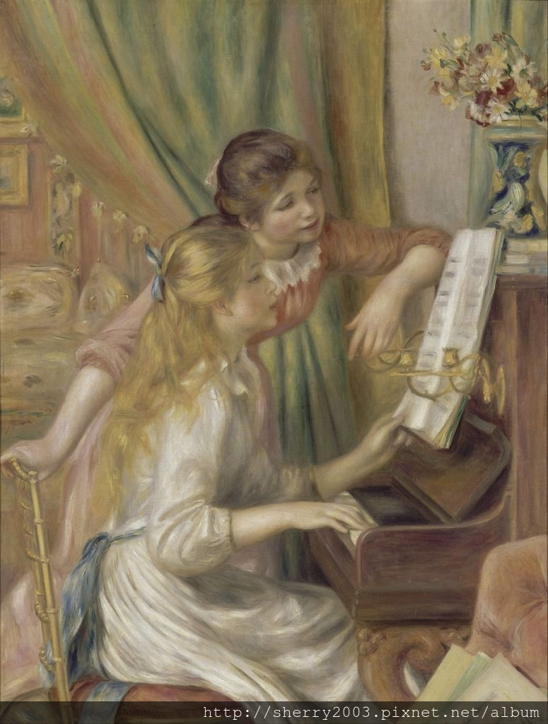 Auguste Renoir_Young Girls at the Piano