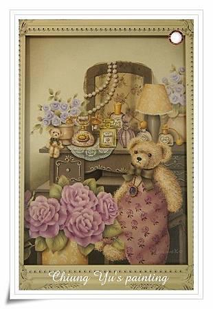 紫玫瑰兩小熊