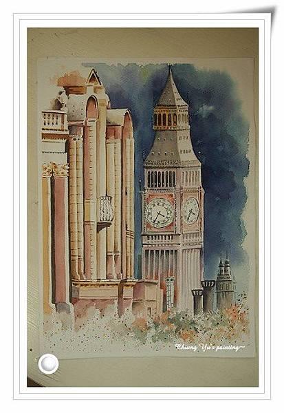 歐洲風情畫-鐘