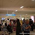 沒有很大的雅典機場喔~