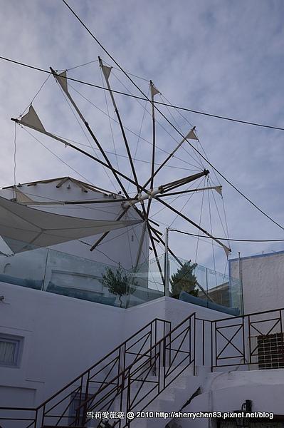 好特別的風車餐廳...好漂亮喔~