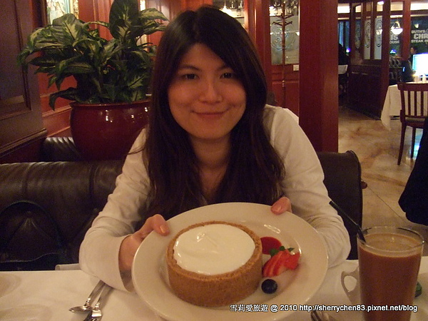好好吃的cheesecake ^_^
