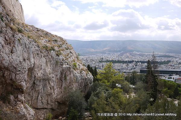 眺望山下的景色,美美美!!