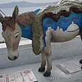 到處都有的驢子雕像..每一個都不一樣喔~