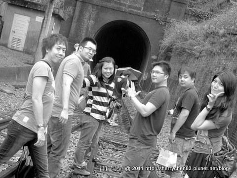 勝興車站-很特別的照片喔! 好玩!!