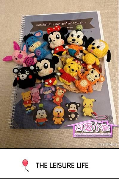 迪士尼公仔及熊本熊-01.jpg