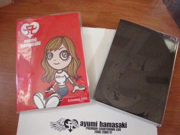 還有兩本AYU封面不同的本本