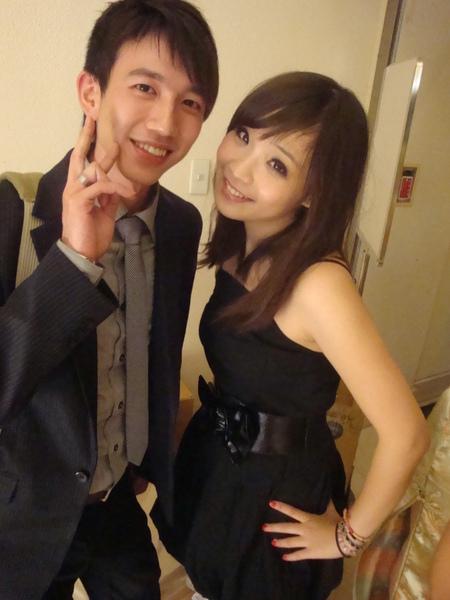 新娘的弟弟,剛剛好也認識劉佳林呢! 世界真小,走到哪裡都會遇到認識的