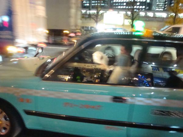 計程車有很多顏色呢
