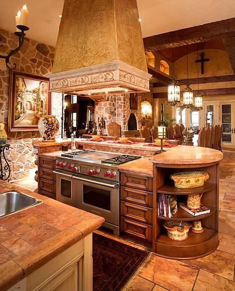 中島型廚房