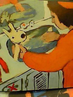 Lisa洗澡