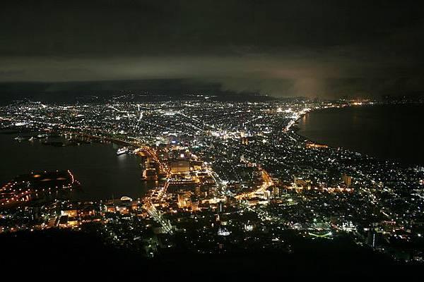 函館山的百萬夜景