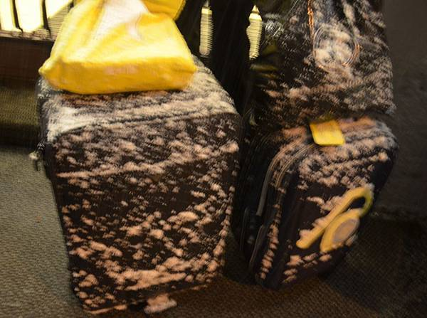歷經風霜的行李