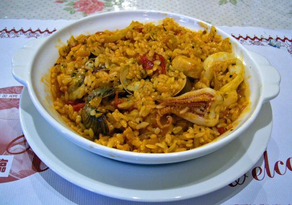 茄汁海鮮饗宴燉飯