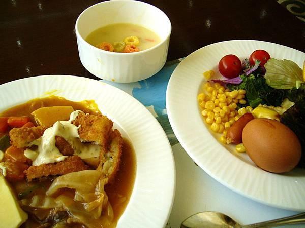 洪川大明度假村早餐