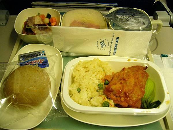 飛機餐-雞肉