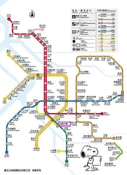 NEW Metro map 20131201