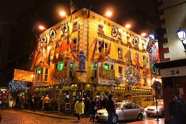 愛爾蘭的pub!