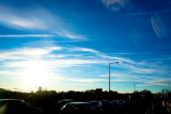 美麗的雲朵之二
