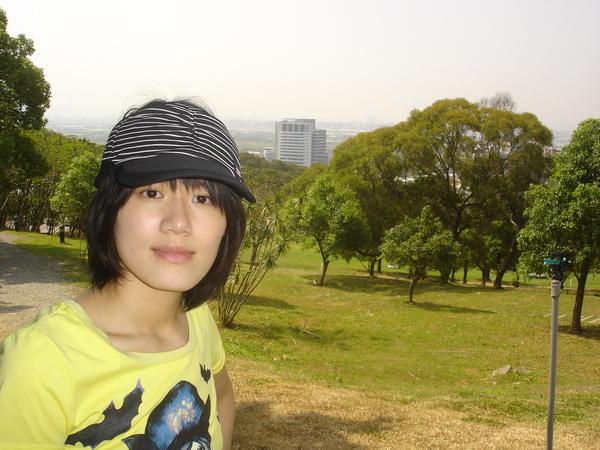 從北藝大俯瞰臺北市