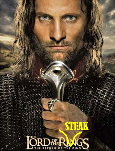 the return of the steak king