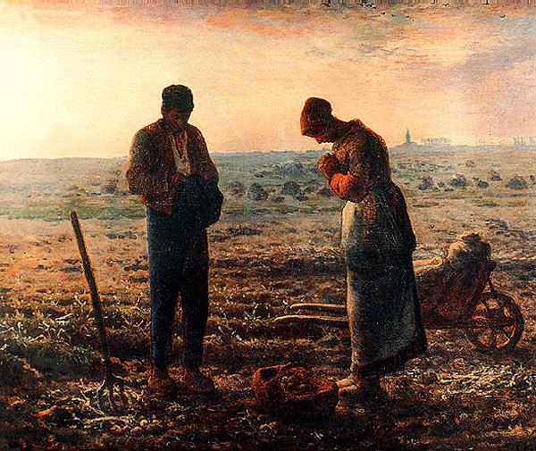 晚禱 by 米勒