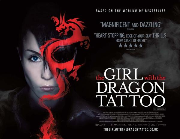 龍紋身的女孩電影海報
