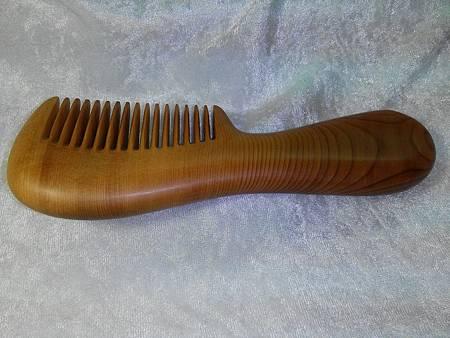 紅豆杉木梳子010
