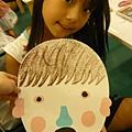 20110806 白糖果-爸爸的面具