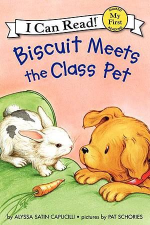 Biscuit meets the class pet.jpg