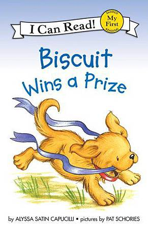 Biscuit wins a prize.jpg