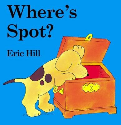 Where's Spot 硬頁翻翻書