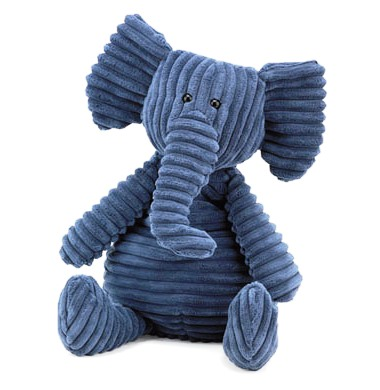 Cordy roys海軍藍大象玩偶(15吋)