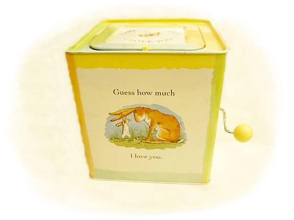 猜猜我有多愛你小兔音樂匣-外觀